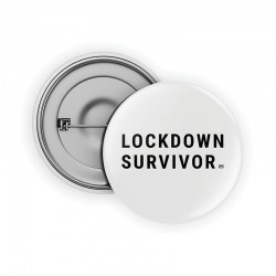 Lockdown Survivor Pin