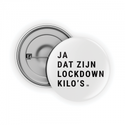 Lockdown kilo's Pin