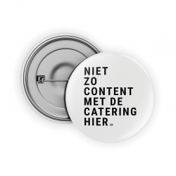 De catering sucks hier Pin