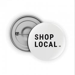Shop Local Pin