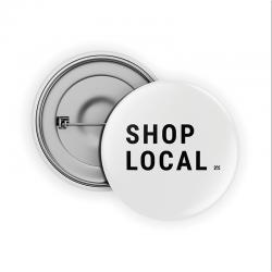 Shop Local Pin